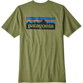 Patagonia P-6 Logo Responsibili-Tee Men Crag Green